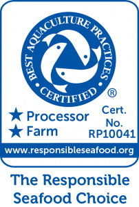 BAP Logo_Best Aquaculture practices_RP10041_2star_blue