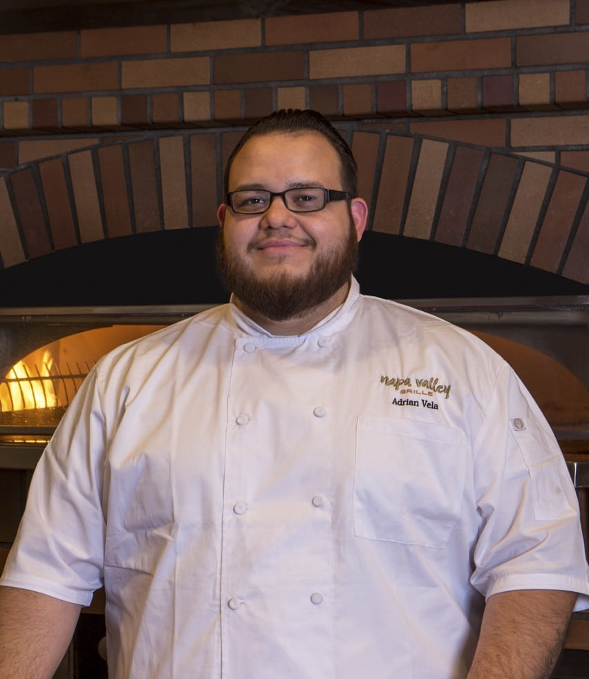 Chef Adrian Vela of Napa Valley Grille